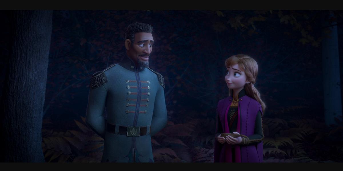 Lieutenant Destin Mattias in Frozen 2