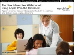 The New Interactive Whiteboard: Using Apple TV in the Classroom