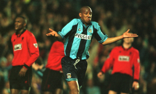 Dion Dublin at Coventry