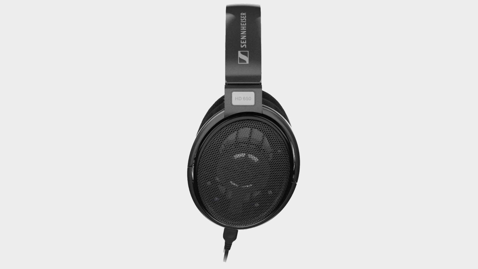 Sennheiser HD650 headphones on a blank background