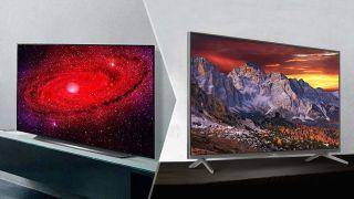 LG CX OLED vs. TCL 6-Series Roku TV (R635)