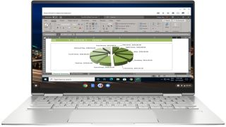 Running Microsoft Excel for Windows on Chrome OS in Parallels Desktop for Chrome OS