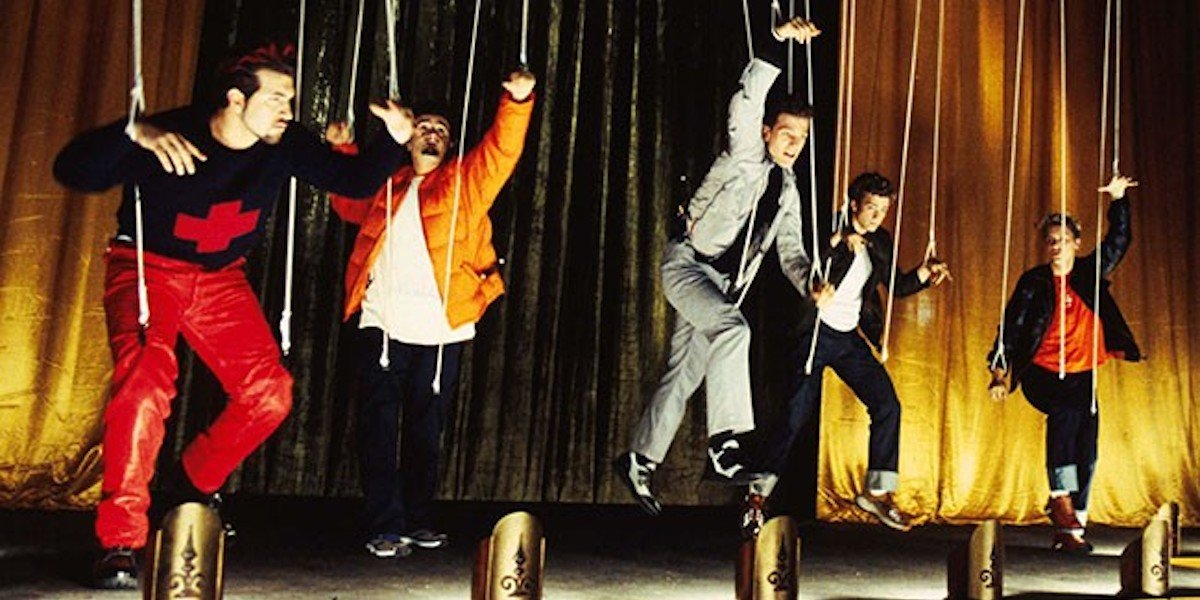 NSYNC's Getting A Wild Movie, And One Of The Band Members Is Involved