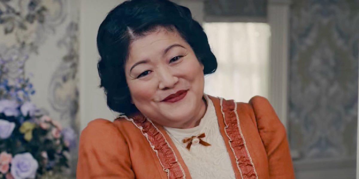 Ann Harada in the trailer for Schmigadoon!