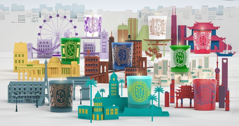 Diptyque Tokyo and City Candles collection