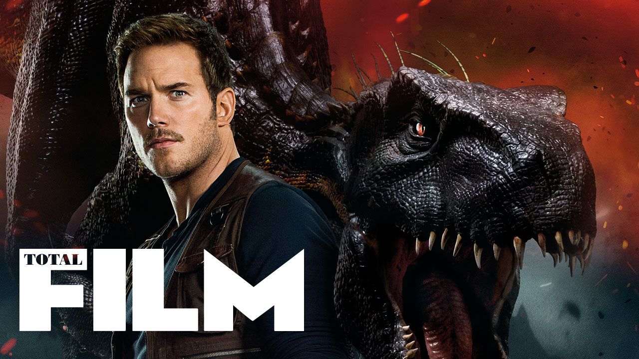 Chris Pratt meets the Indoraptor on Total Film magazine's Jurassic