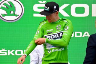 Sam Bennett moves into the green jersey