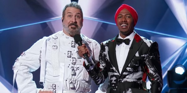 Joey Fatone Nick Cannon The Masked Singer Fox