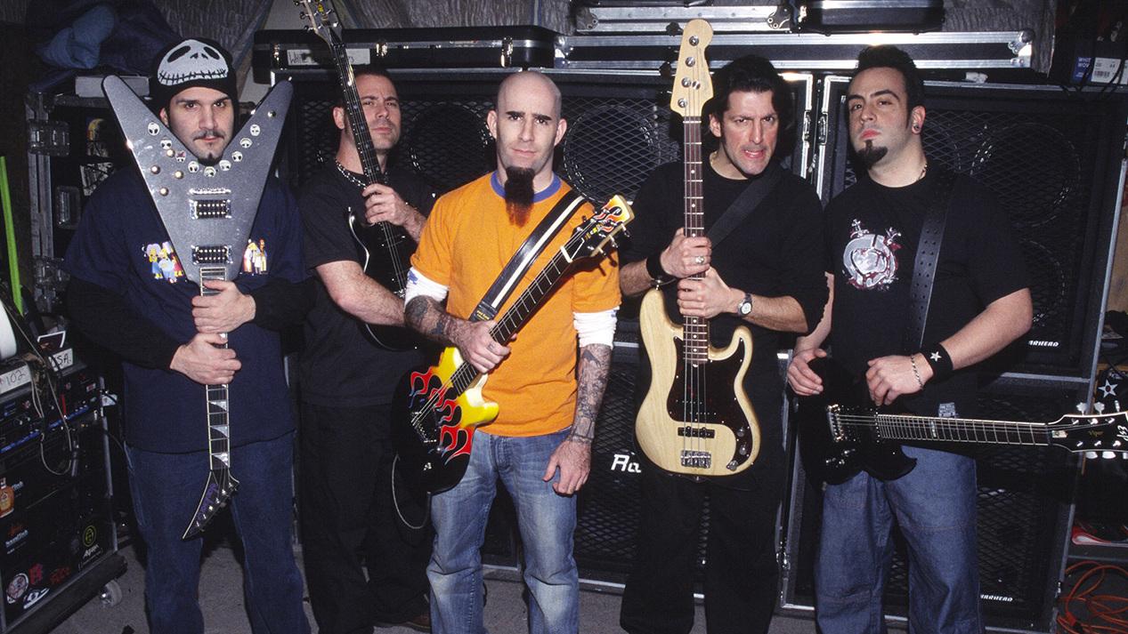 Anthrax detail John Bush era reissues   Louder