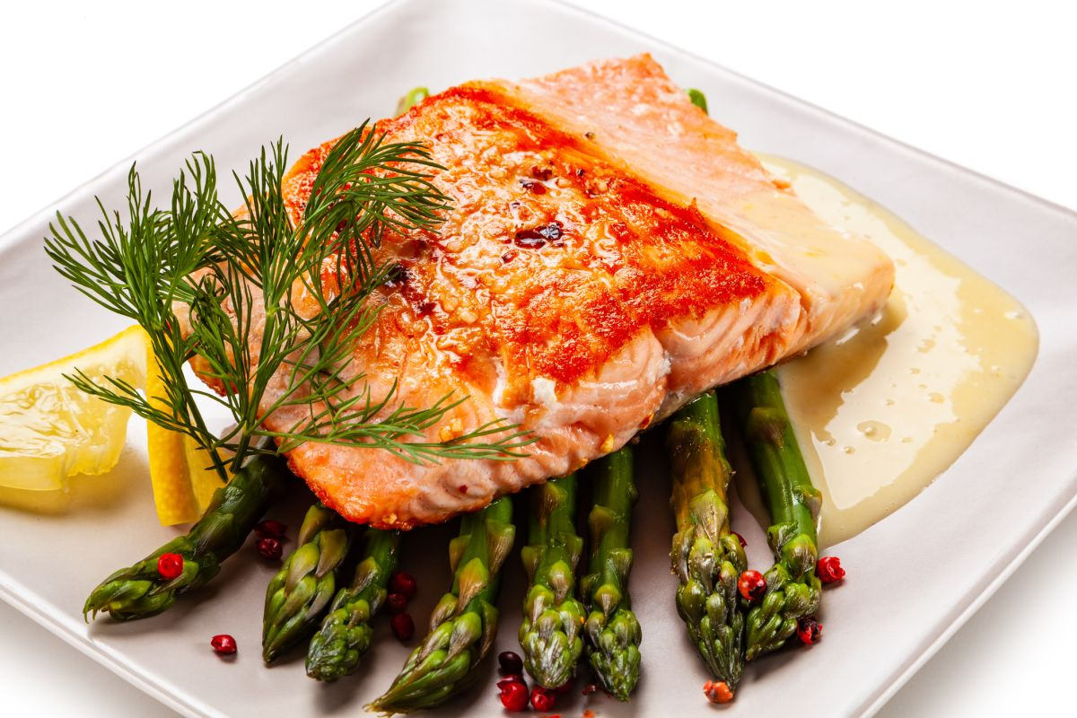 Baked salmon: what a way to change up your Sunday roast