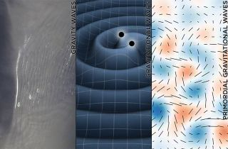 Gravitational waves, gravity waves, primordial gravitational waves