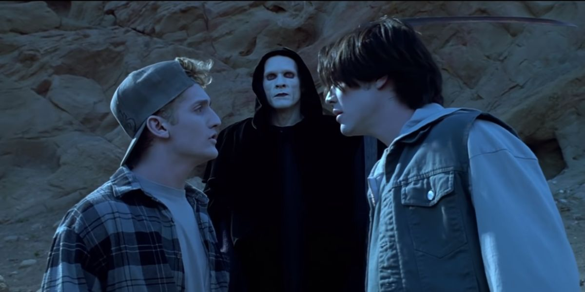 Bill, Ted, and Death, in Bill and Ted's Bogus Journey