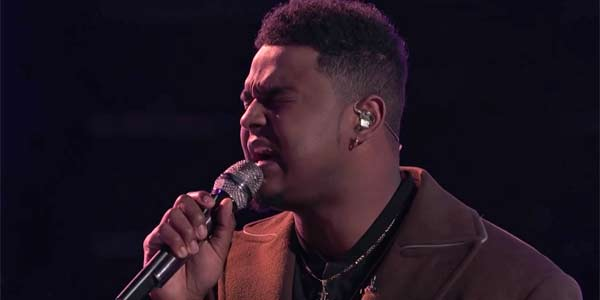 Deandre Nico performs All of Me on NBC's The Voice