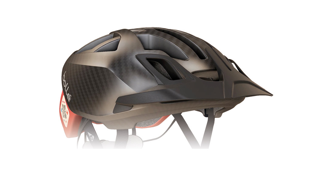 The detachable visor for mtb use