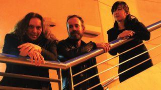 Tangerine Dream, L-R: Thorsten Quaeschning, Ulrich Schnauss, Hoshiko Yamane