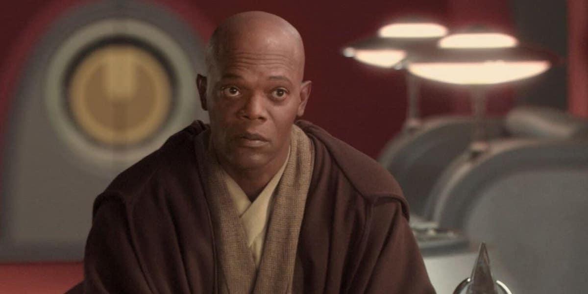 Mace Windu in Star Wars: Attack of the Clones