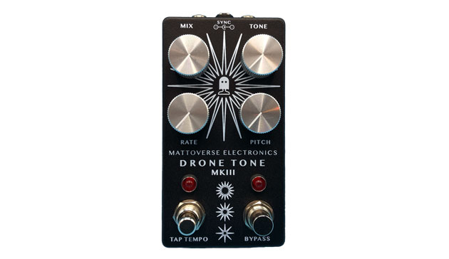 Mattoverse Electronics' Drone Tone MkIII is a square wave oscillator in a pedal   MusicRadar