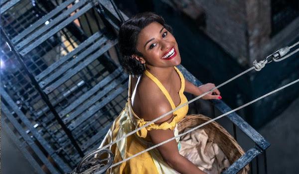 Ariana DeBose as Anita in West Side Story 2020 musical