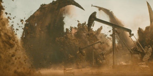 Godzilla king of the monsters giant monster underground