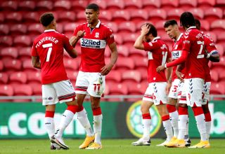 Middlesbrough v Shrewsbury Town – Carabao Cup – First Round – Riverside Stadium