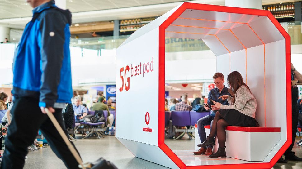 Vodafone 5G takes off at London Gatwick Airport