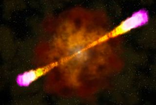 Gamma ray burst art