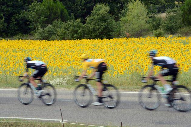 Scenery, Tour de France 2012, stage 13