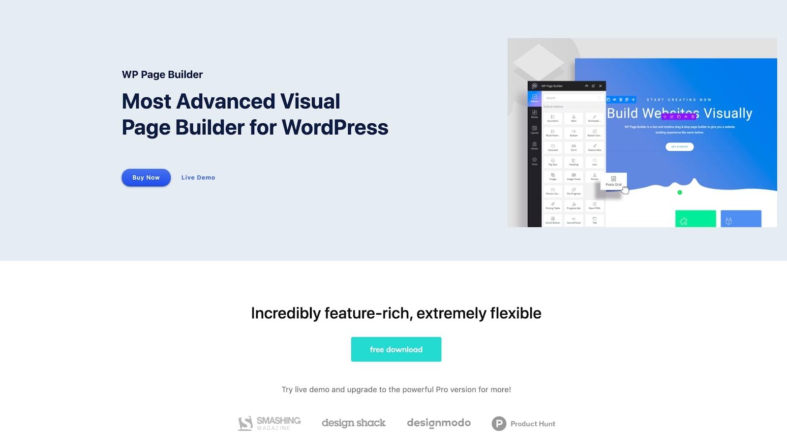 constructeur de site Web wordpress