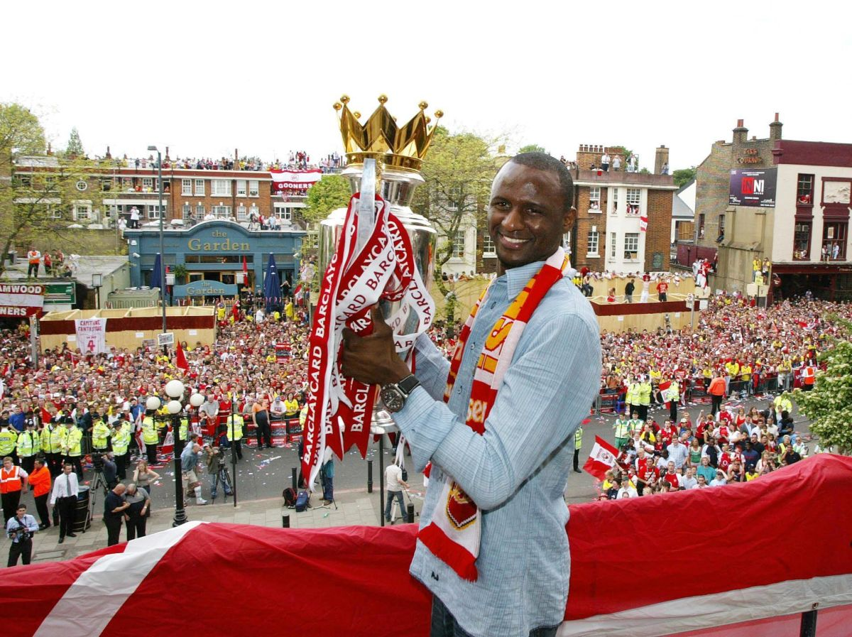 Premier League title-winning captains - Patrick Vieira ...