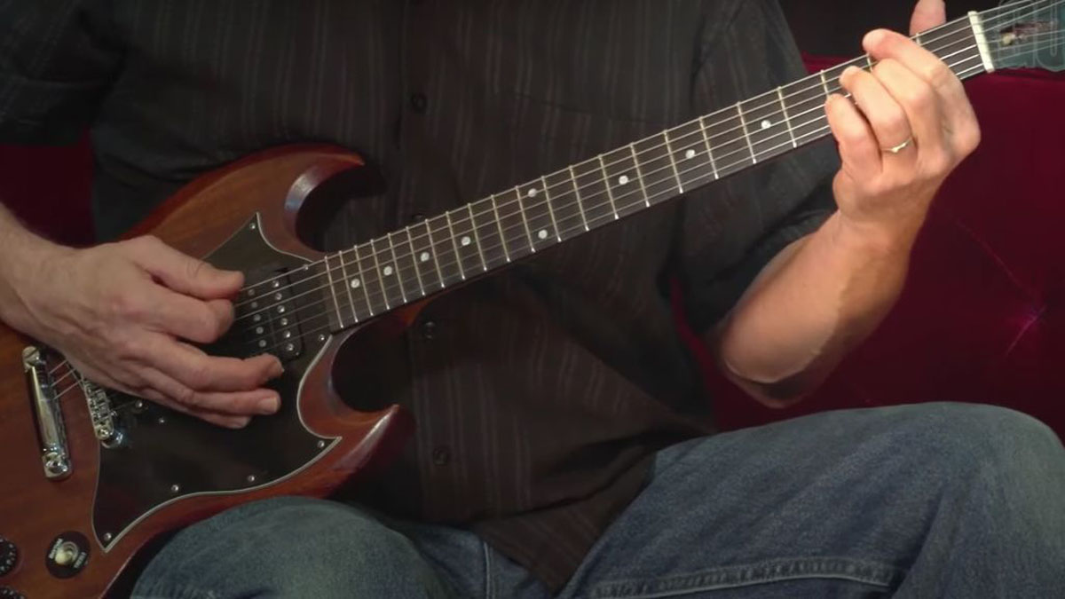 How creating chains of dotted-eighth syncopations can revolutionize your rhythm playing