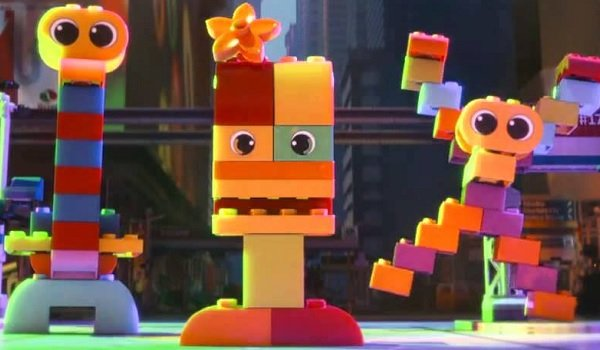 The Lego Movie invasion of the cute but threatening Duplos