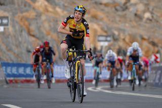 Jonas Vingegaard (Jumbo-Visma) wins at the UAE Tour
