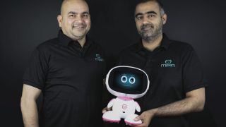 Anees Mian, Co-founder of Misa Robotics and Deepak Bhatia, Founder and CEO of Misa Robotics and iLife Digital Technology