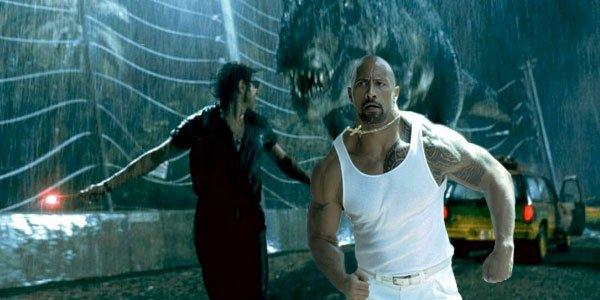 The Rock Jurassic Park