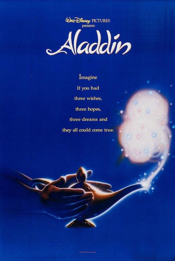 Disney's Aladdin (1992) poster
