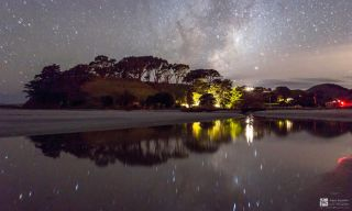 Milky Way Reflections