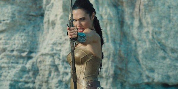 Wonder Woman Gal Gadot Arrow Drawn