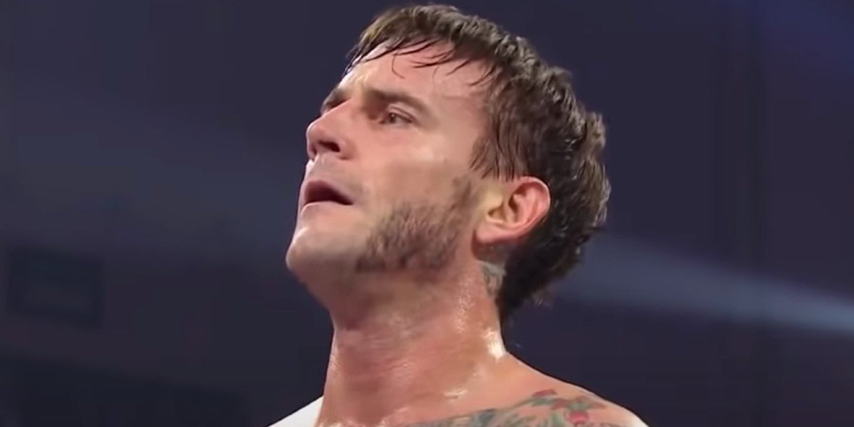 CM Punk in one of his final WWE appearances