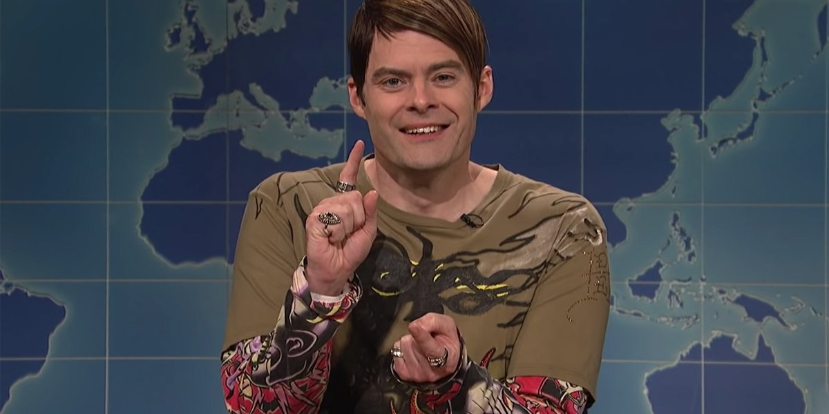 Saturday Night Live's Bill Hader Reveals He Regrets Some Of His Stefan Sketches And More