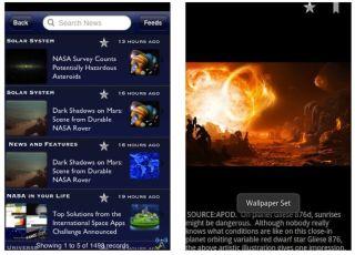 NASA's Upgraded iPhone App