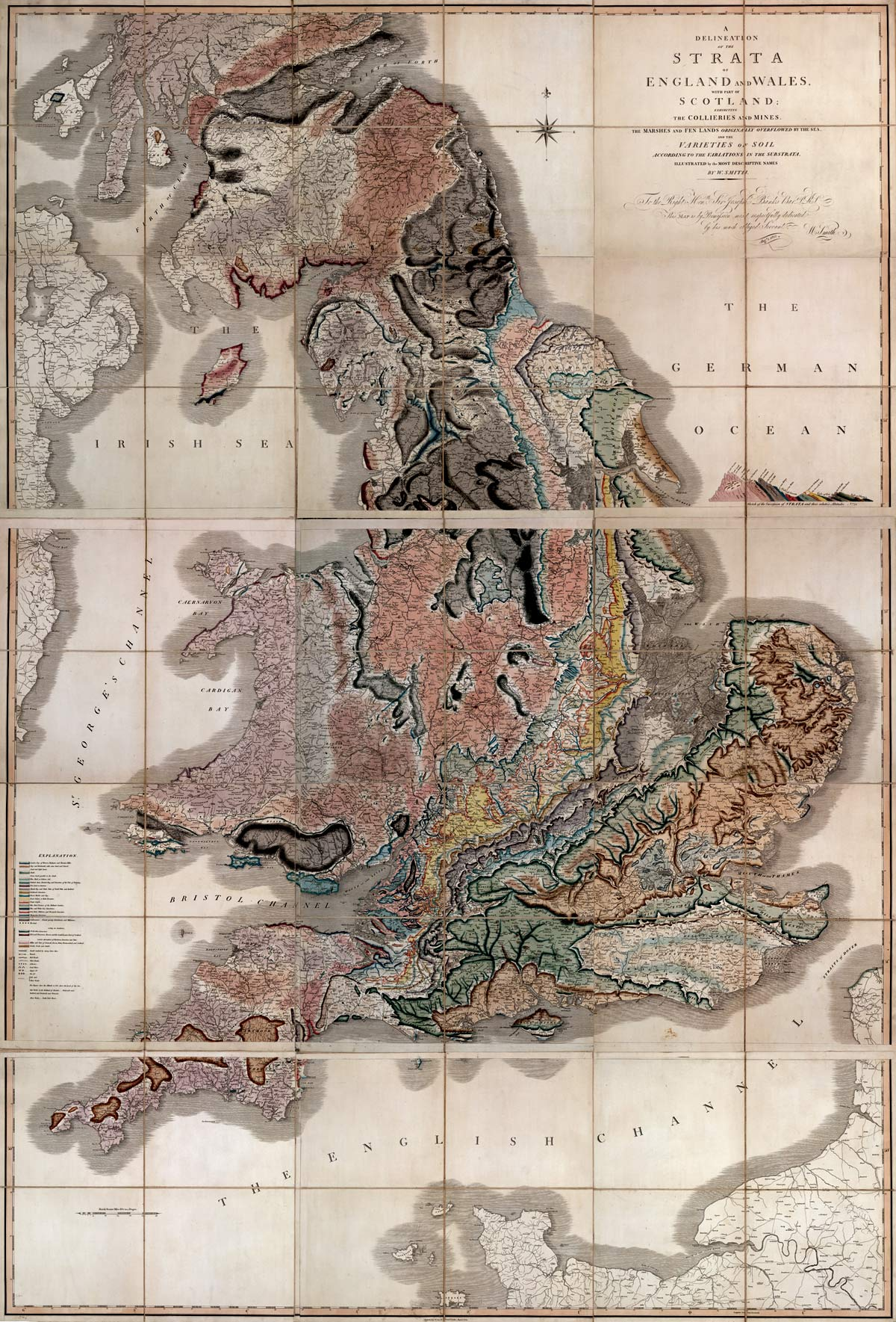 Map Of England Over Time.The Map That Changed The World Live Science