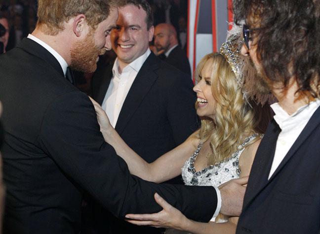 Kylie minogue dating royal