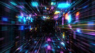random disco lights