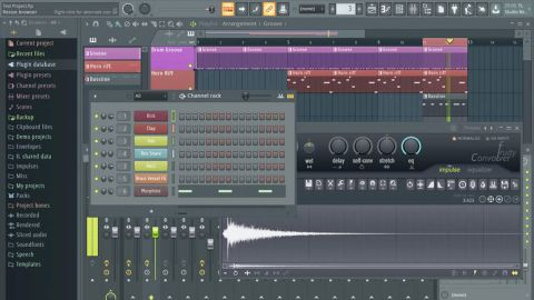 fl studio fruity edition audio recording