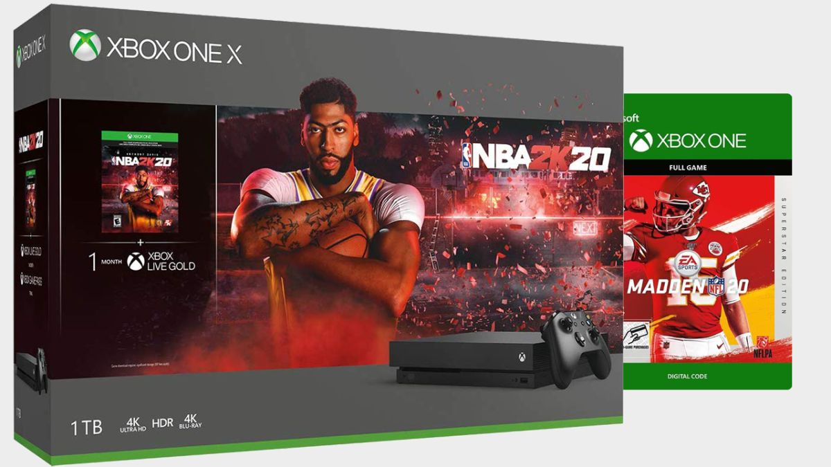 Save more than $60 on a sports-lovers dream of an Xbox One S