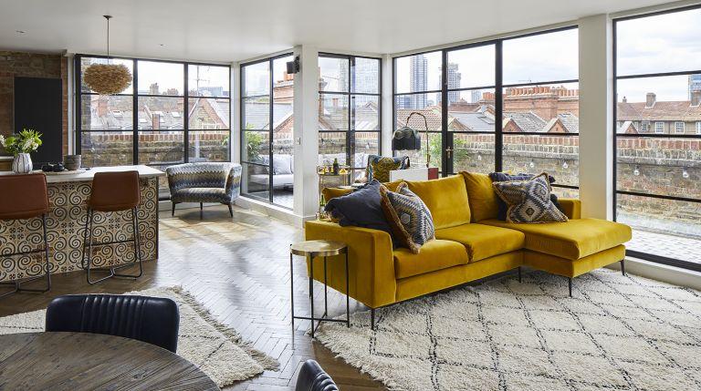 industrial London apartment