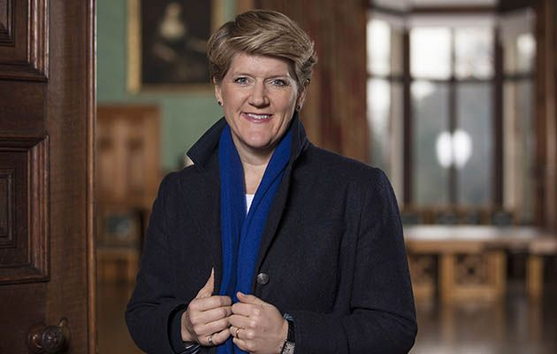 It's good sport Clare Balding's turn to get emotional…