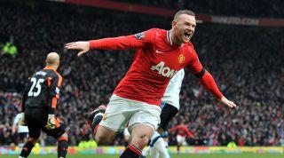 Rooney Man United goal