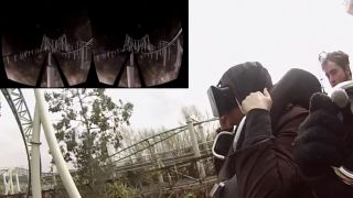 Oculus Rift on a roller coaster is as crazy as it sounds