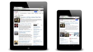 Google News optimised for iPad and Android tablets